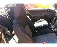 Peugeot 206 Cabrio CupÉ 2002