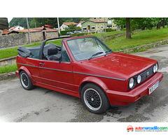 Volkswagen Mk1 Cabrio 1988