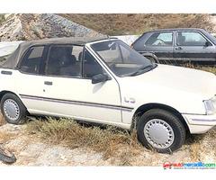 Peugeot 205 Cj Cabriol 1989