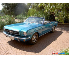 Ford Mustang 289 V8 Descapotable
