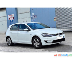 Volkswagen E-golf Electrico 100%automatic 2014