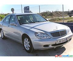 Mercedes-benz Clase S 2002