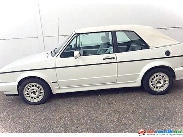 Volkwagen Golf Gti Karman Cabrio Gti 1989