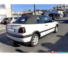 Volkswagen Golf Cabrio 2.0 2.0 1998