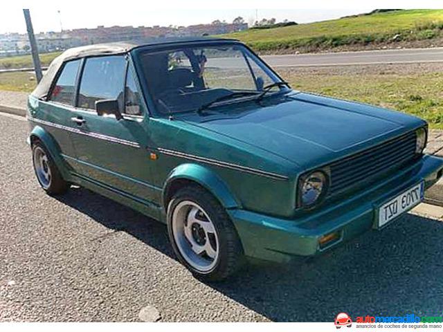 Volkswagen Golf Cabrio 1.6 Gl 1.6 1992