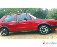 Wolkswagen Golf Gti 8v Mk2 Serie1 Gti 1986