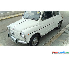 Seat 600 X Renault 5 1972