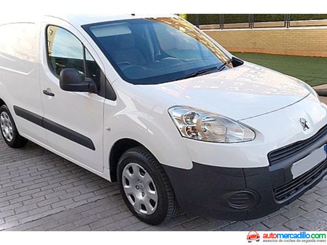 Peugeot Partner 1.6 Hdi 75 Cv Furgon 1.6 Hdi 2014