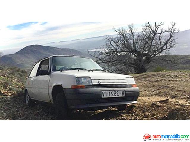 Renault 5 Supercinco R5 Five 1988