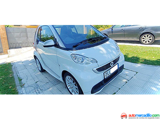Smart Fortwo Coupe Electric Drive 5 2015