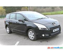 Peugeot 5008 1.6 Vti 120 Cv Premium 1.6 Ti 2010