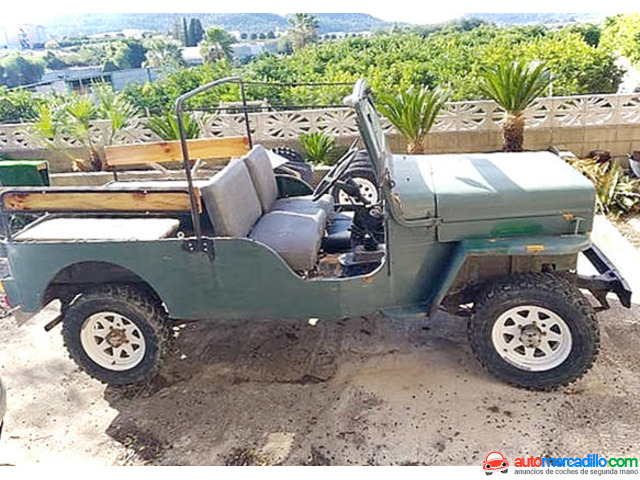 Jeep Willys D3-pecj6 1980