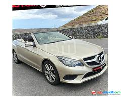 Mercedes-benz Clase E Cabrio E 300 2014