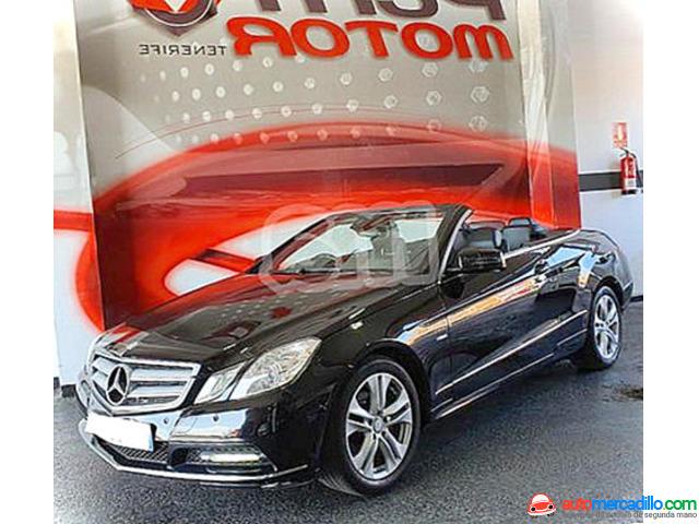 Mercedes-benz Clase E Cabrio E 200 Blue Efficiency Elegance 2012