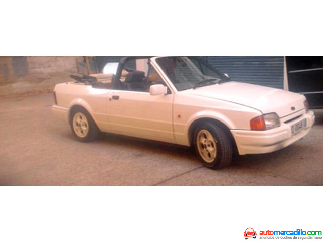 Ford Escort Cabrio 1986