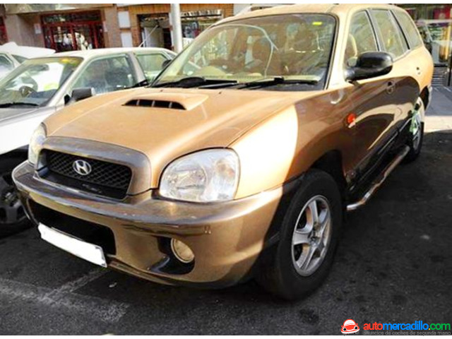 Hyundai Santa Fe 2.0 Crdi 2.0 Crdi 2001