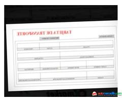 Tarjeta Tarjeta De Transporte