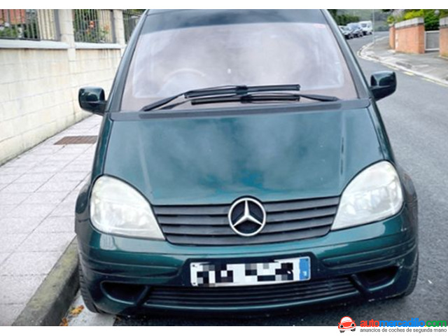 Mercedes-benz Vaneo 1.7 Cdi Family 1.7 Cdi 2004
