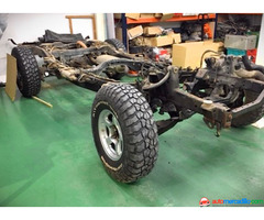 Toyota Land Cruiser Hdj100 2001